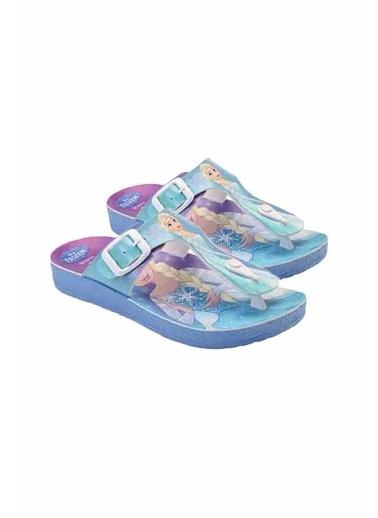 Gigi Gigi Ayakkabı Frozen Yazlık Terlik Mavi Pembe